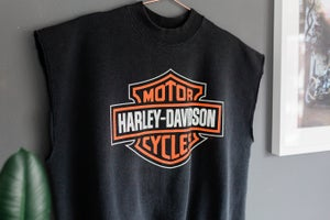 Image of 90's Harley Davidson Muscle Sweat