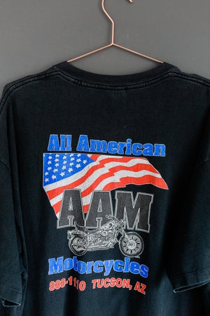 Image of Vintage All American Motorcycles, Survivors Tee
