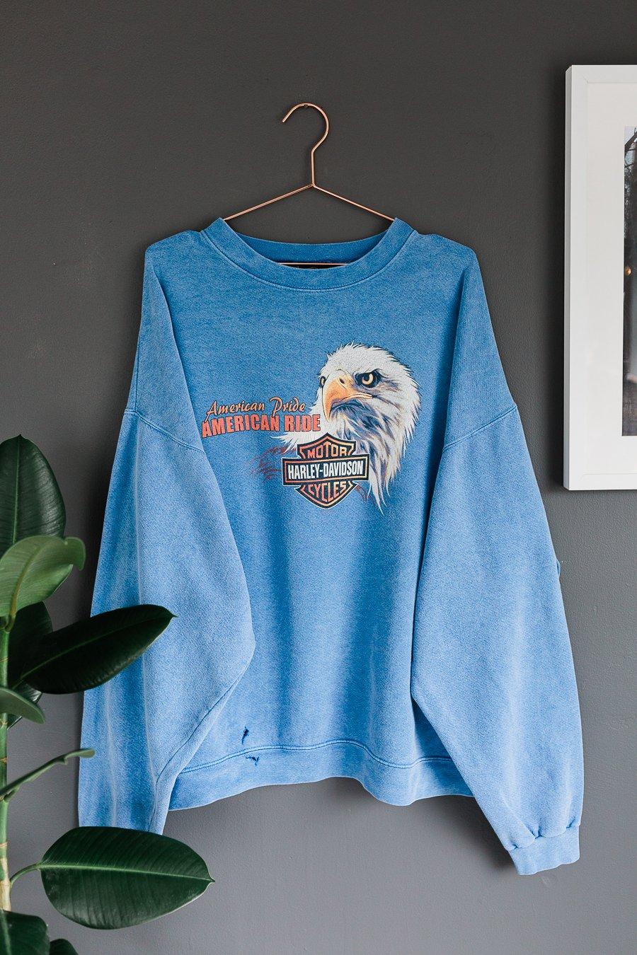 Image of 00's Harley Davidson American Ride Sweater
