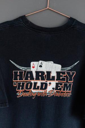 Image of 90's Harley Davidson Hold' Em