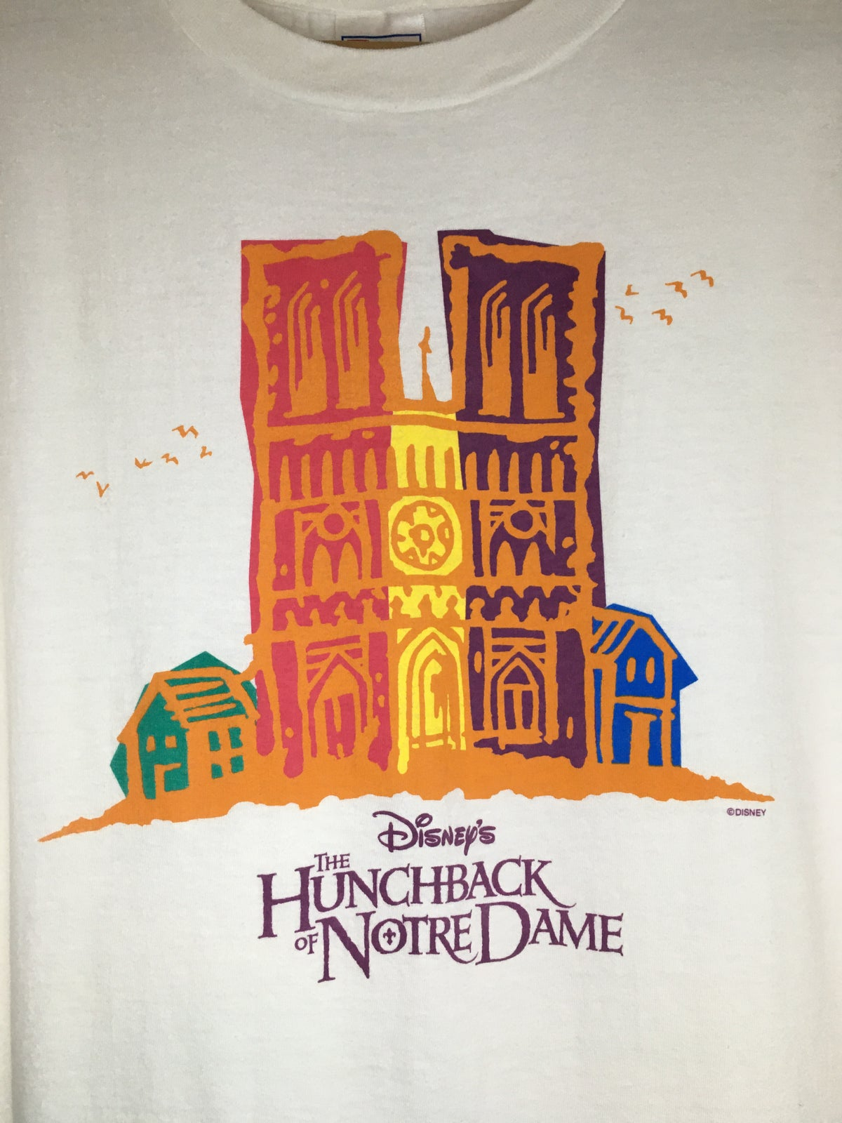 90's Disney The Hunchback Of Notre Dame Tee