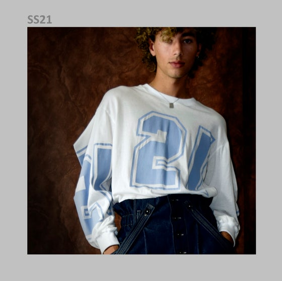 Image of SS21 - PRINTED LONG SLEEVED TEESHIRT