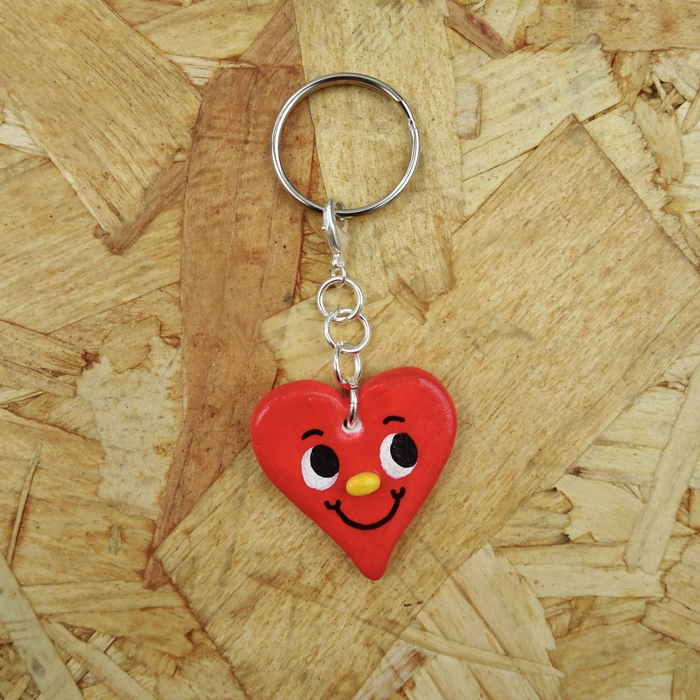 Image of Heart Keyring