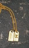 CC Dog tag Chain