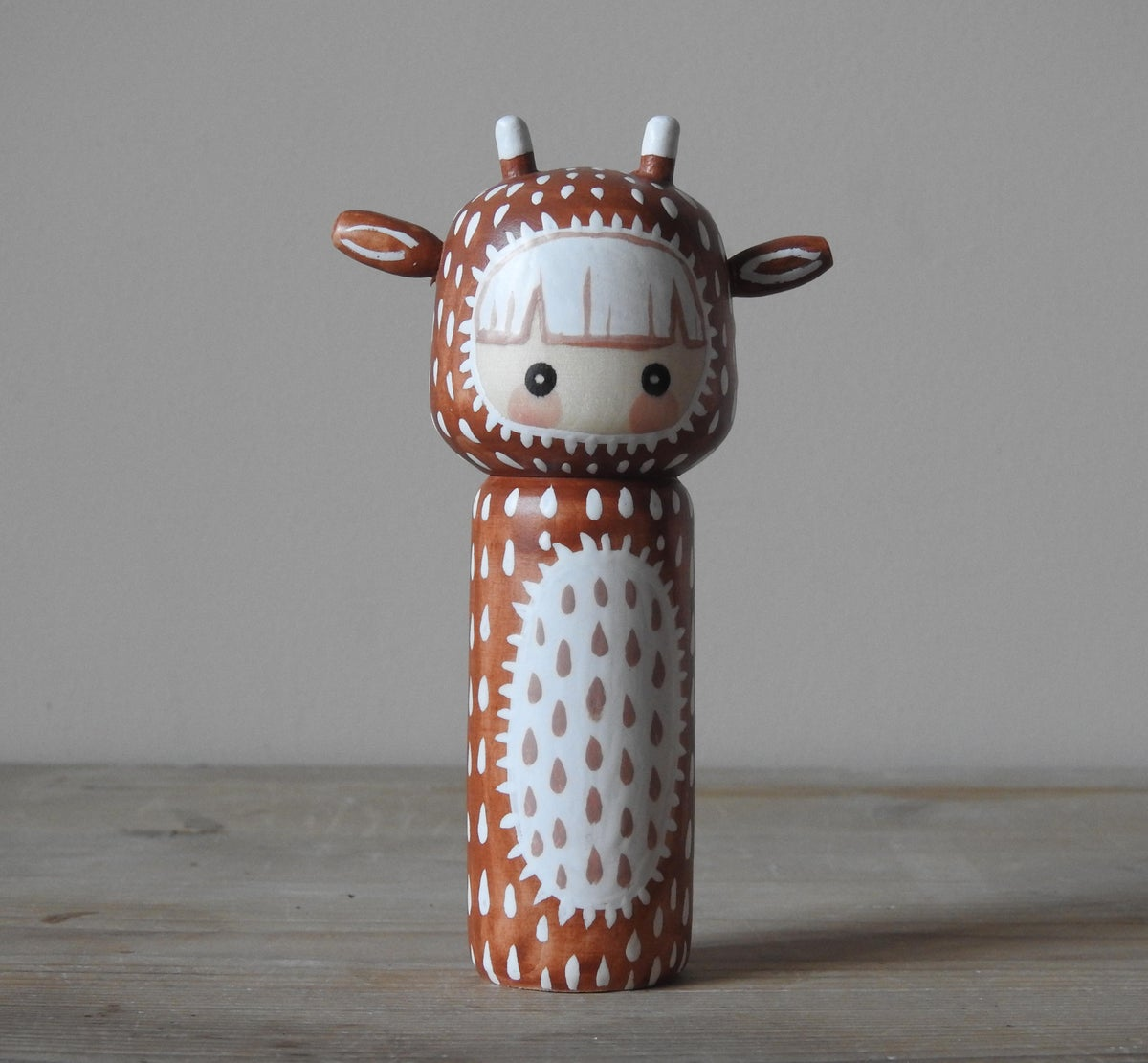 Image of year of the ox girl - soft brown