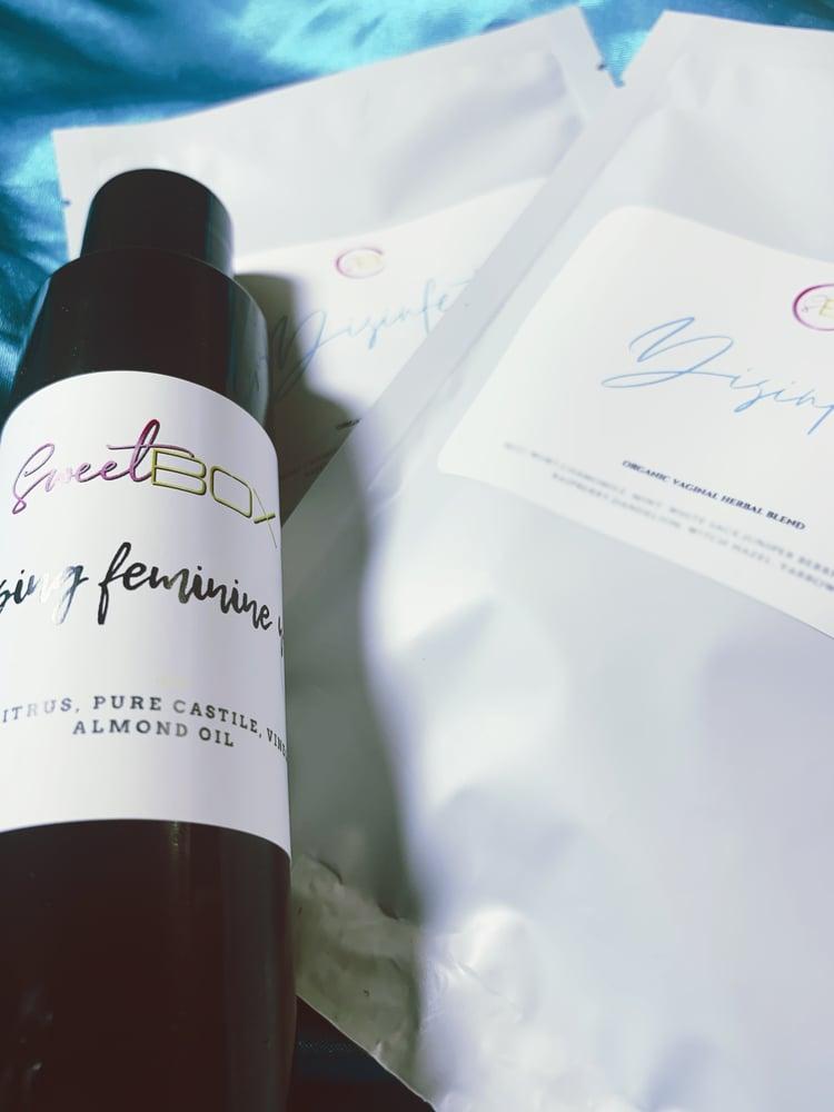 Image of 2 Vagi-Steam Herbal Blend + Cleansing Feminine Wash