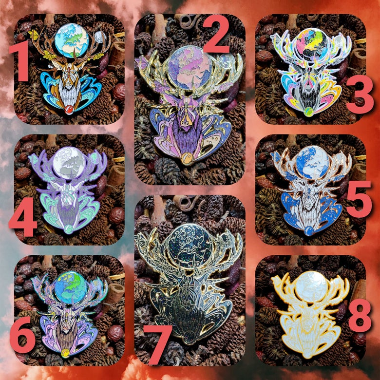 Image of 🦌🌌 Spirit Elk Pick Your Variant 🌌🦌