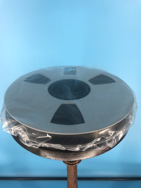"Image of Burlington Recording Clear Reel To Reel Bags for 10.5"" x 1/4"" 1/2"" & 1"" Tape Reels 10 Pack"