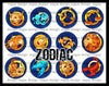 Signs of The Zodiac 1 Inch Bottle Cap Images