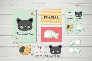 Image of Pack imprimible gatitos