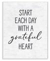 Grateful Heart Wall Plaque