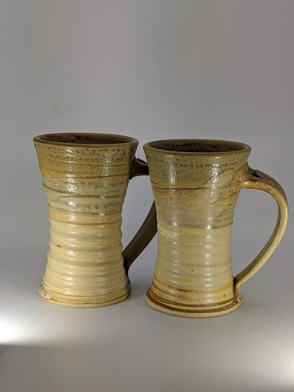 Image of Pair of Sunset Steins