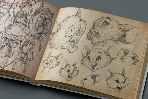 Image of (CROWDFUNDING) Premium Edition Scrawlings: The Art and Sketches of Scurry