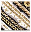 Elegant Fashion Chains and Glam Designer Pattern Wall Plaque
