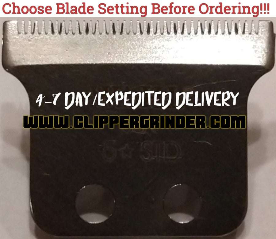 Image of (4-7 Day Delivery/Expedited) Modified Wahl 5 Star Hero/T-Shaped Blade