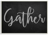 Gather Wall Plaque #1