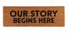 Door Mat- Our Story