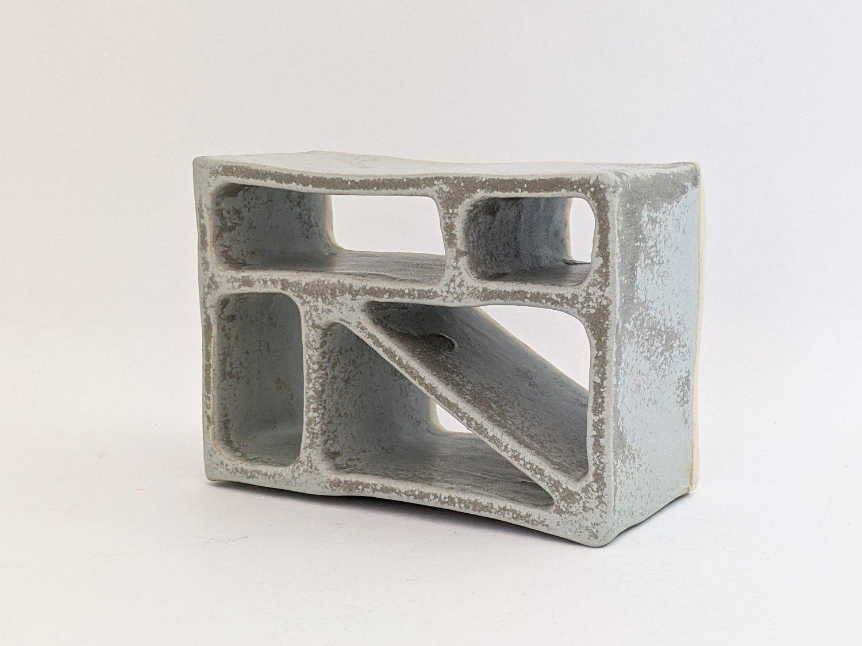 Image of breeze block in grey II