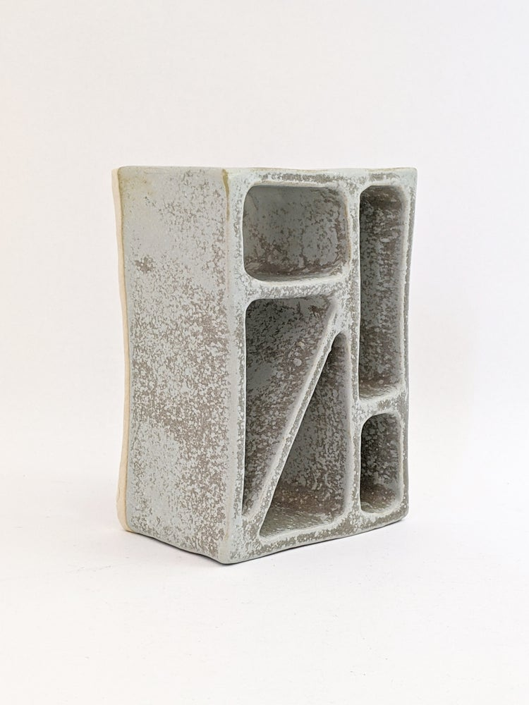 Image of breeze block in grey II