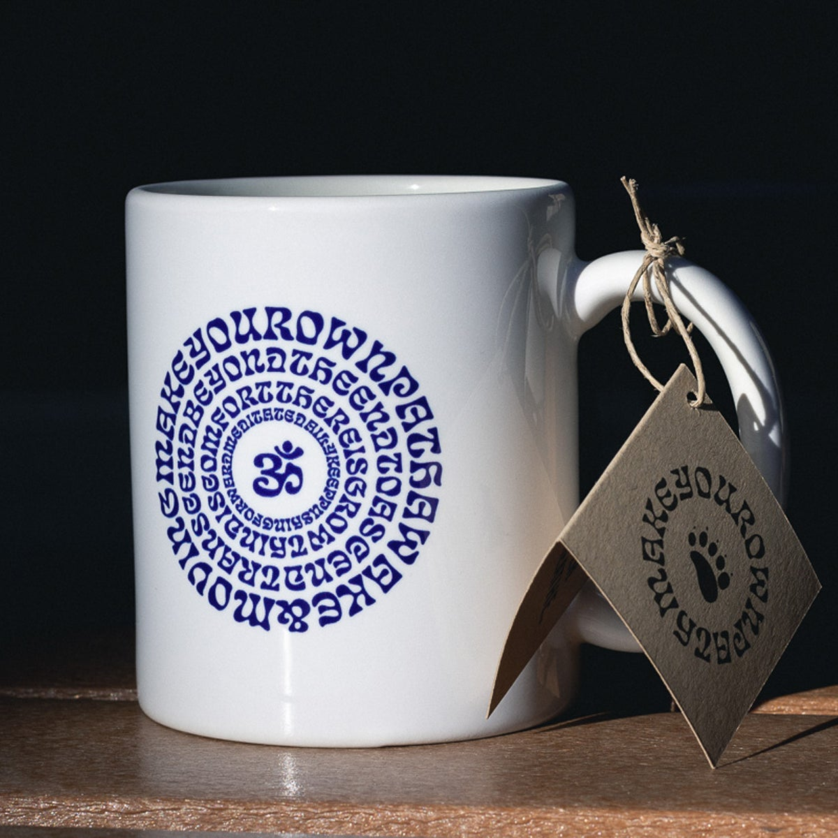 "Image of ""Mantras"" Ceramic Mug"