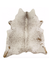 Brazilian Brown Salt and Pepper Cowhide Rug Large size
