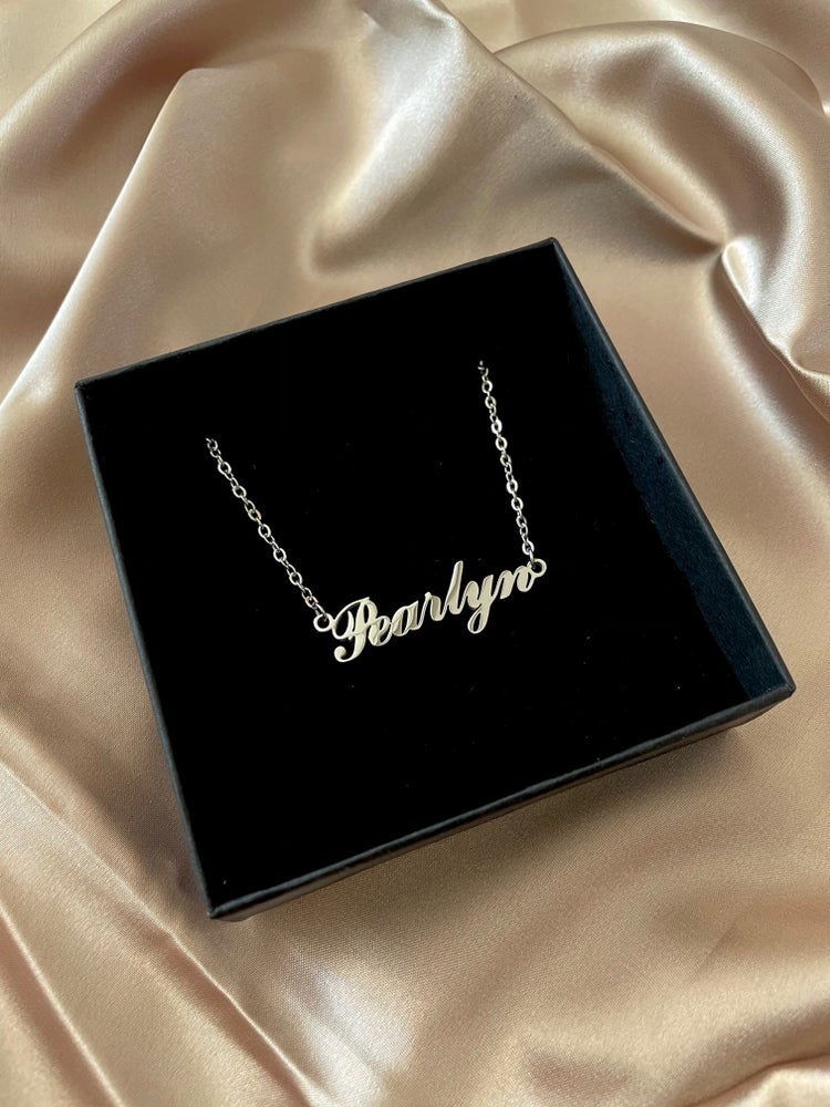 Image of Customised Name Necklace
