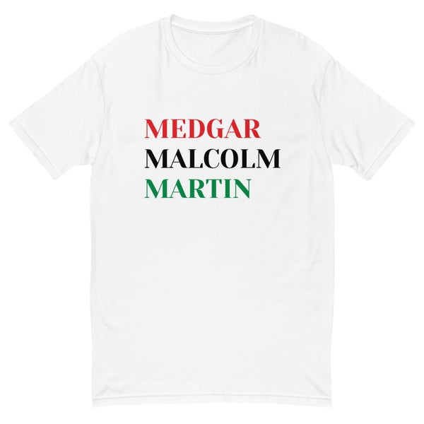Image of Medgar, Malcolm, Martin
