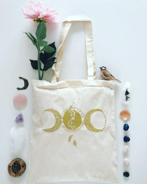 Image of Tote Bag *Triple Moon*