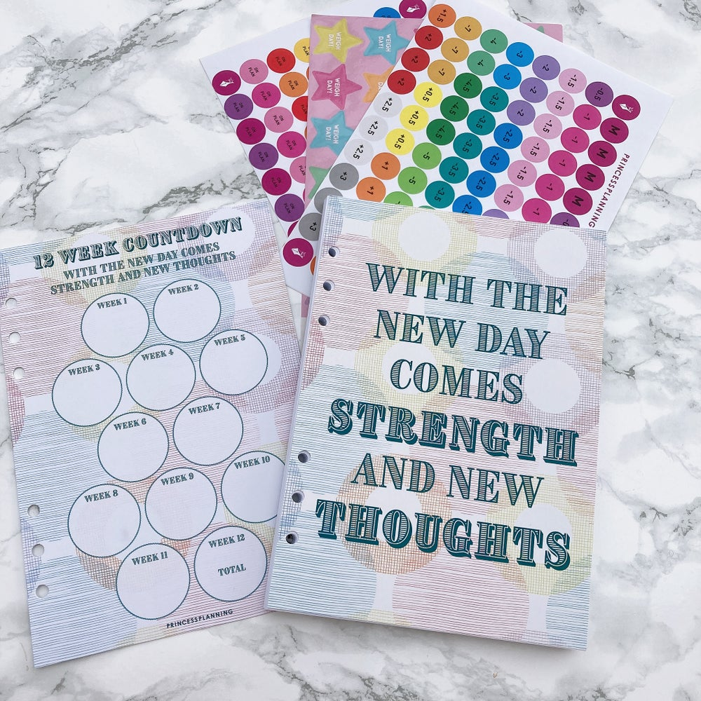 Image of 12 WEEK ORGANISER REFILL BUNDLE NEW DAY COMES STRENGTH