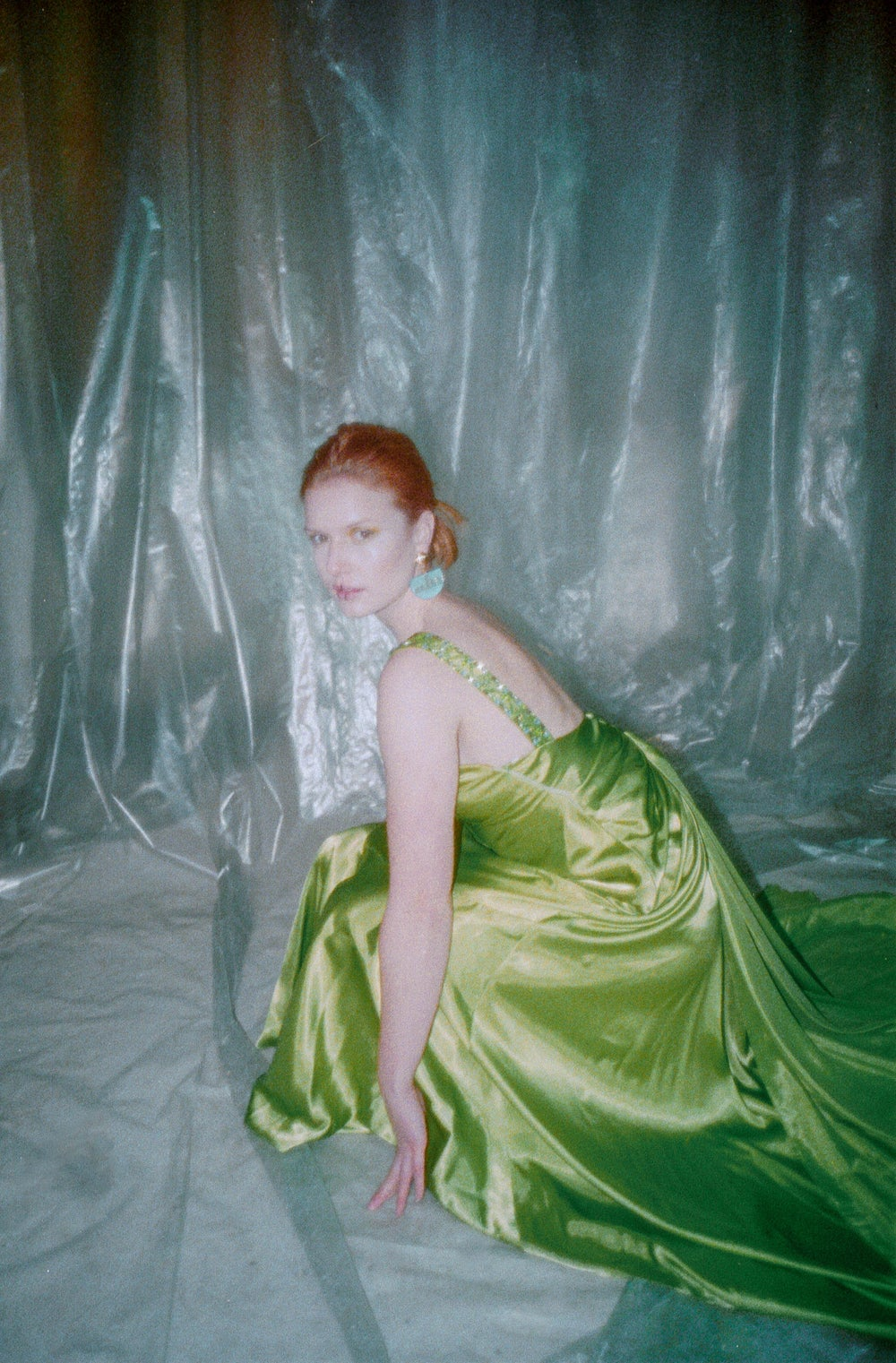Image of Green Gala Gown