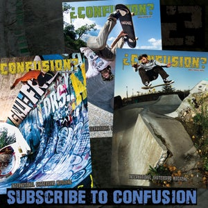 Image of Confusion Magazine - year subscription (worldwide)