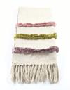 Designer Decorative Handmade Throw ( KIA Cream)