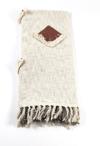 Designer Decorative Handmade Throw ( TIT0 Cream)