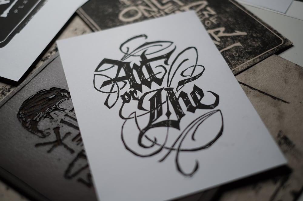 Image of Art or Die - Linocut