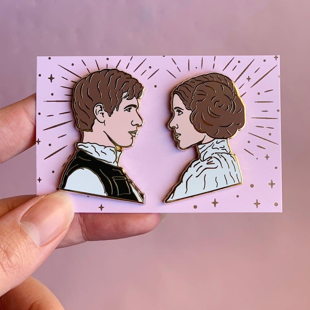 Image of Leia & Han Set