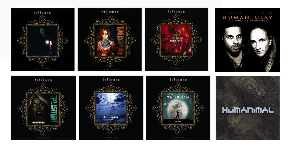 Image of Talisman (and related) 8 CD bundle