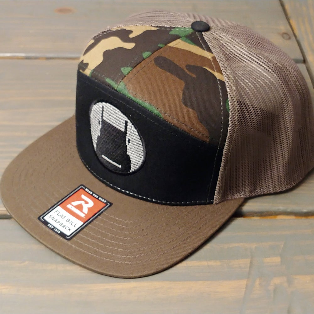 Image of D Brand Icon Richardson 7 Panel Trucker