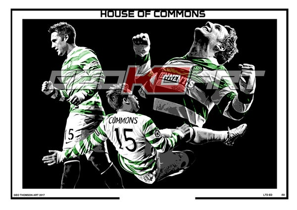Image of KRIS COMMONS CELTIC FC (SIGNED)
