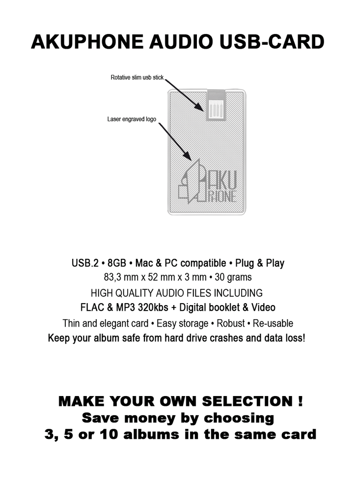Image of Akuphone Personal USB Audio-card