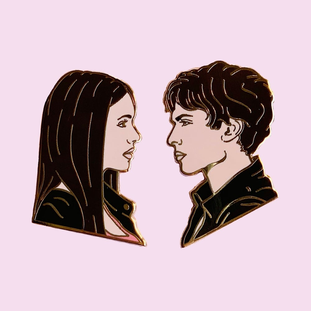 Image of Elena & Damon Set