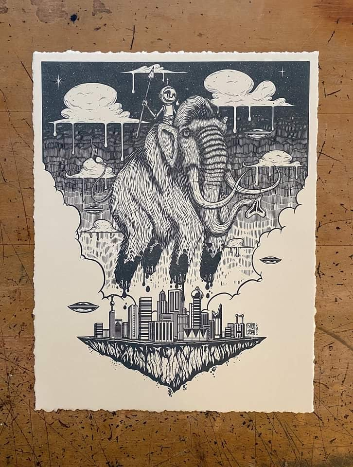 Image of The Original Rider Letterpress - Main Edition