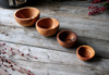 Set of wooden Bowls (4pc)