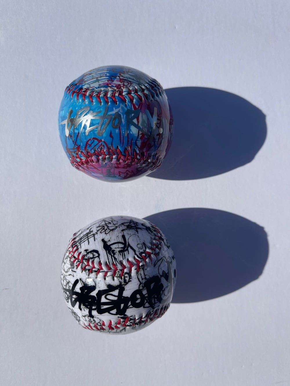 Chrome + Black Autograph Gregory Siff Baseball 2-Pack