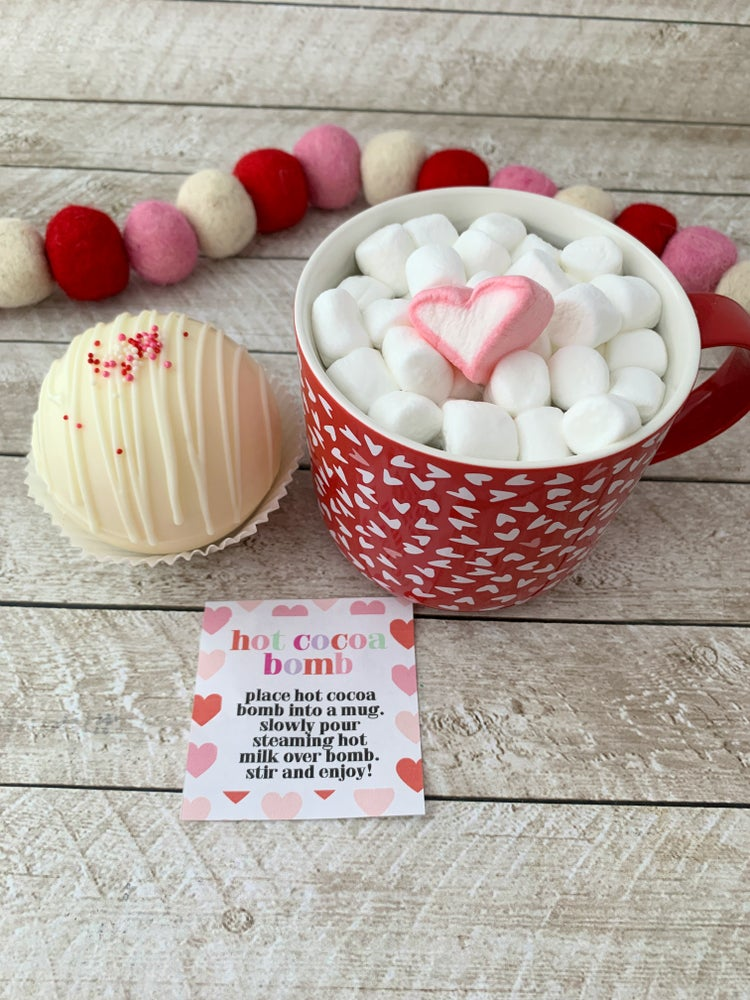 Image of LIMITED EDITION Valentine's Hot Cocoa Bomb