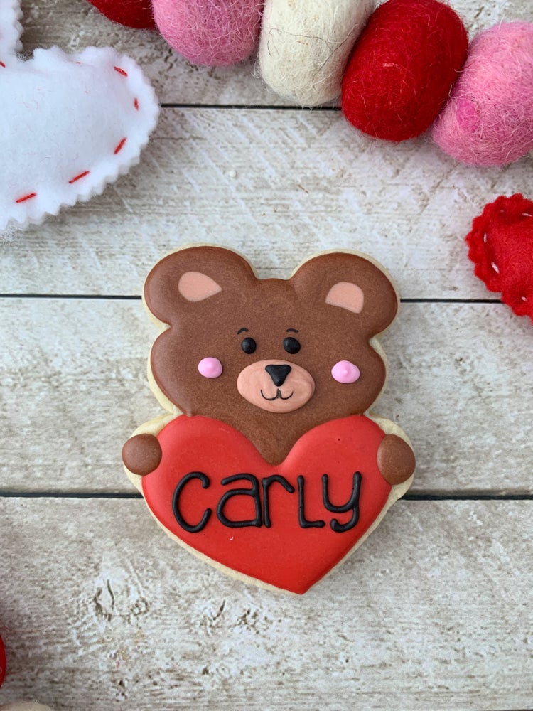Image of Personalized Bear Cookie