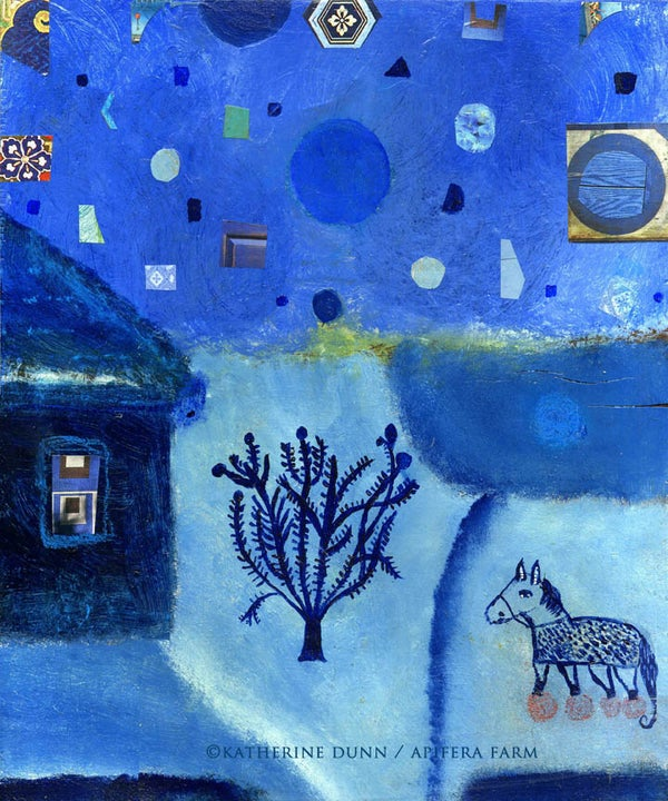 Image of Blue Night a print