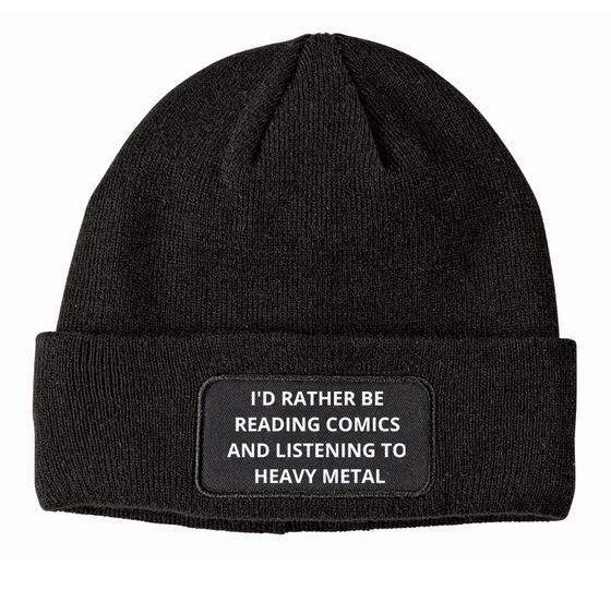 Image of ID RATHER BE BEANIE