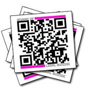 Image of QR-Code Stickers
