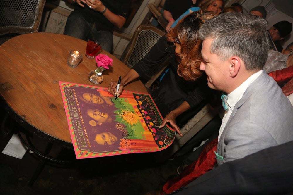 """Image of SIGNED - Limited Edition """"DREAMGIRLS 35TH ANNIVERSARY"""" Concert Poster 