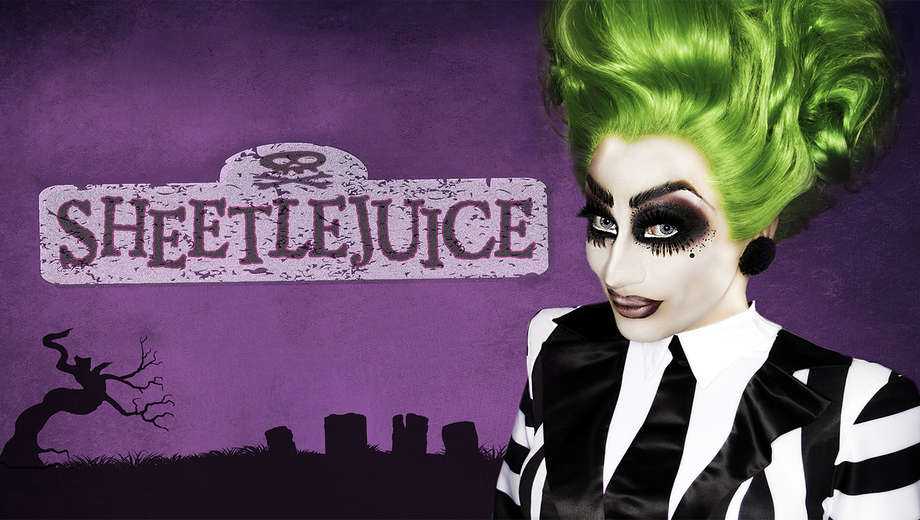 "Image of SIGNED - Limited Edition ""SHEETLEJUICE"" Concert Poster starring BIANCA DEL RIO"
